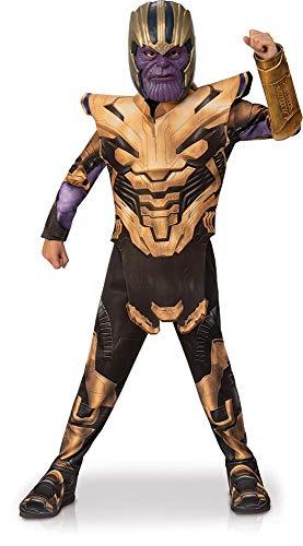 Rubie's - Disfraz oficial de Los Vengadores de Endgame Thanos, para Niños, Tamaño Grande, 8 -10 Años, altura 147 cm