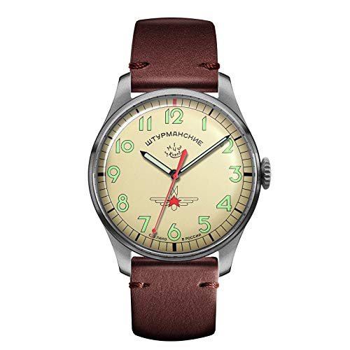 Sturmanskie Herren-Armbanduhr Gagarin Vintage Retro 2609-3745128L