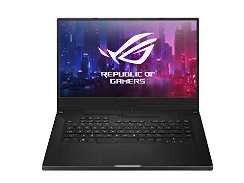ASUS ROG Zephyrus G GA502IU-HN071T, Notebook Monitor 15,6' FHD Anti-Glare 144Hz, AMD Ryzen 7-4800HS, RAM 16GB DDR4, Grafica NVIDIA GeForce GTX 1660Ti 6GB, 512GB SSD PCIE, Windows 10 Home, Nero lucido