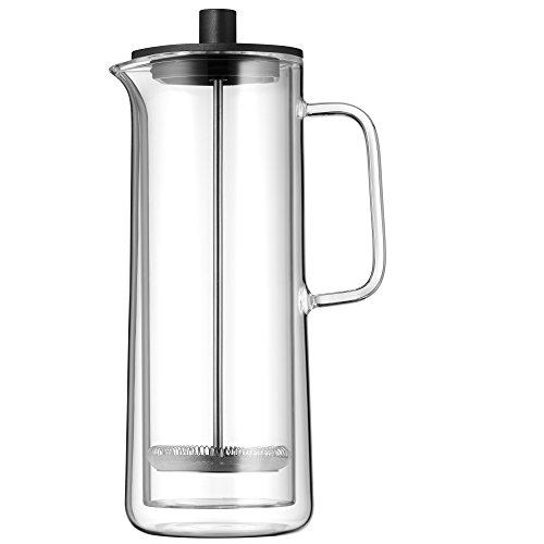 WMF Coffee Time Coffeepress doppelwandig 0,75l, French Press, Kaffeebereiter für 6 Tassen, Glas, spülmaschinengeeignet