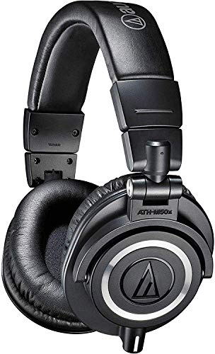 Audio-Technica ATH-M50x Professional Studio...