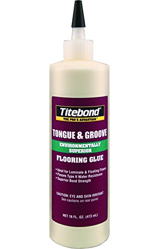 Titebond 2104 Tongue and Groove Glue Bottle, 16 oz.
