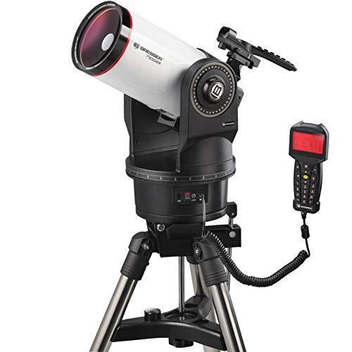 Bresser Messier MCX-127 - Telescopio telescópico con Distancia Focal de 1900 mm y telescopio Goto EQ/AZ con Montaje ecuatorial o azimutal, Incluye trípode