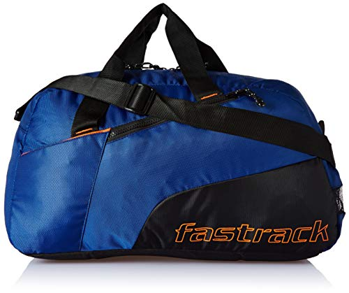 Fastrack Polyester 17 inches Blue Travel Duffle