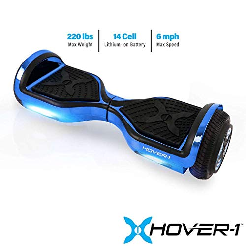 Hover-1 Chrome Electric Hoverboard Scooter