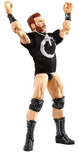 WWE GVB58 - WWE Sheamus Elite Collection Actionfigur, ca. 15cm, beweglich, Geschenk zum Sammeln für WWE Fans ab 8 Jahren