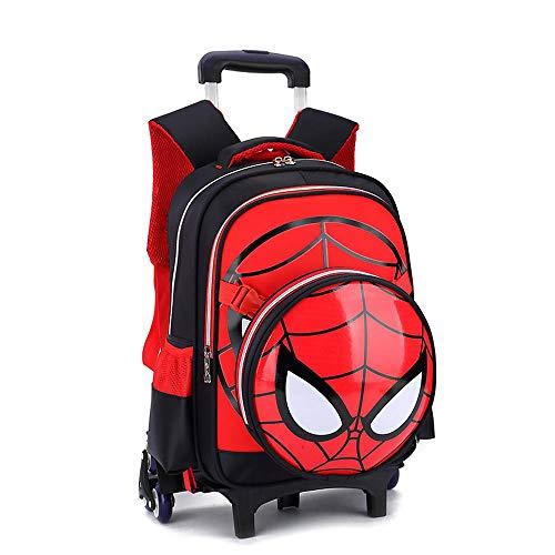 Trolley bag Sacchetto di Libro A Rotelle Primario della Borsa di Rotolamento della Scuola dei...