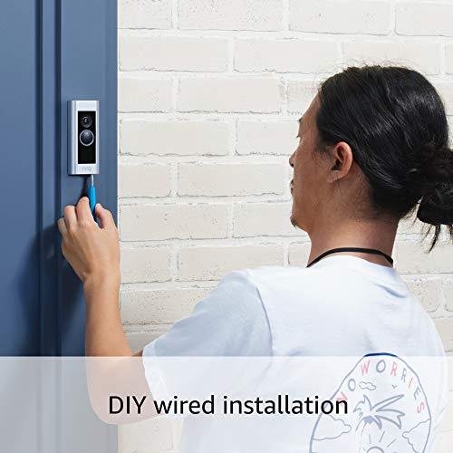 Product Image 6: Ring Video Doorbell Pro – Upgraded, with added security features and a sleek design (existing doorbell wiring required)