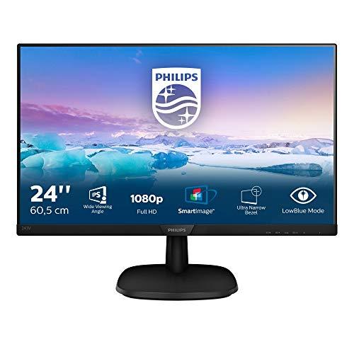 Philips Monitor 243V7QDSB/00- 24', FHD, 75Hz, IPS, Flicker Free, (1920x1080, 250cd/m² VESA, DSUB, HDMI)