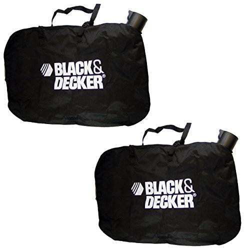 Black and Decker Blower/Vacuum Replacement 2 Pack Leaf Bag # 90560020-2PK