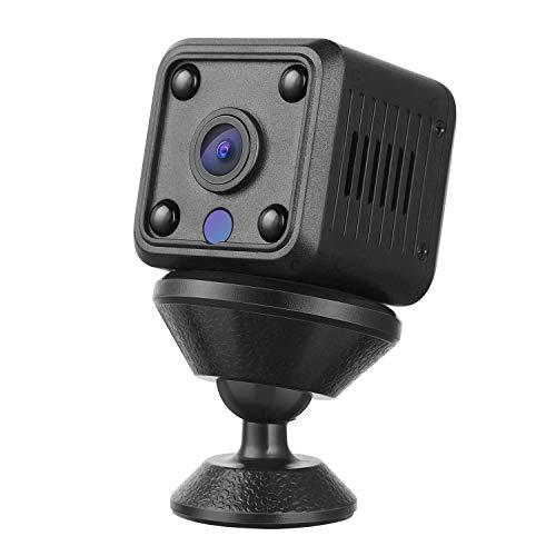 YOHOOLYO Mini Telecamera Spia Nascosta Wireless Cam, 1080P HD con Visione Notturna, Rilevamento del Movimen, Registrazione in Loop per Esterno/Interno