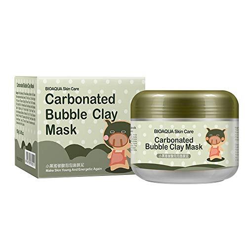 Carbonated Bubble Clay Mask - Bubble Face Mask Mud Mask with Moisturize Deep Cleansing Clay Mask 100g