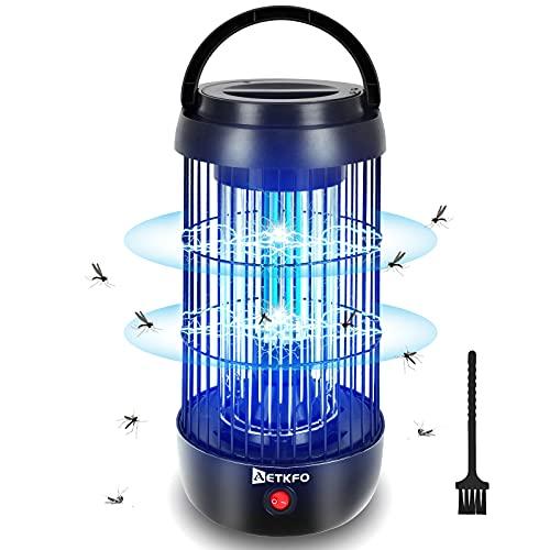 Lampe Anti Moustique Electrique, 360° UV Tue Mouche Electrique, Répulsifs...
