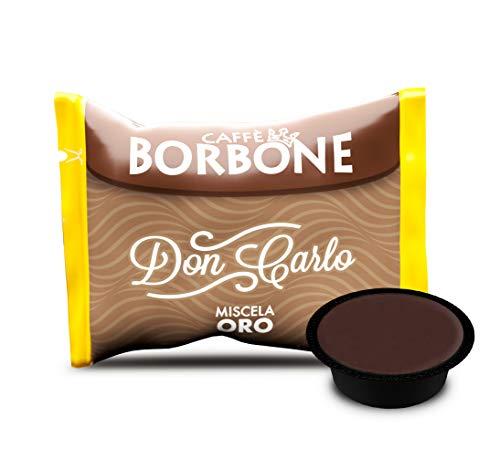Caffè Borbone Don Carlo Miscela Oro - Confezione da 100 Capsule - Compatibili con macchine a marchio Lavazza* A Modo Mio*