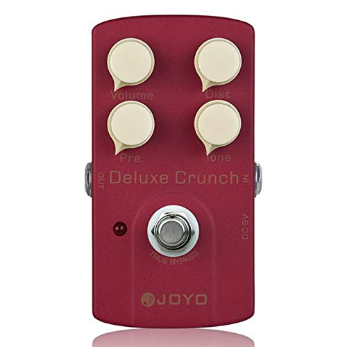 Electric Guitar Effect Pedal Deluxe Crunch Metal Instrument Spare Part Guitar Pedal JOYO JF - 39