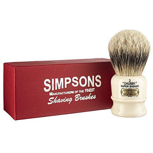 Simpsons Chubby Super Badger Shaving Brush (Chubby CH2 Super)