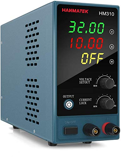 Adjustable DC Power Supply (0-30 V 0-10 A) with...