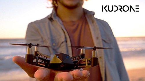 Kudrone|手のひらサイズのGPS自動追跡・4Kカメラ搭載ナノドローン「クードローン」JAN4589652382857