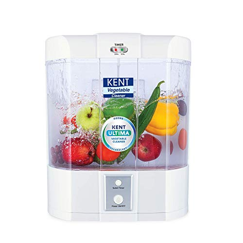 Kent Ultima Vegetable Cleaner (11115), 13 W, White, 1 Piece