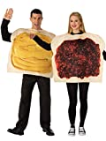 Rubie's Peanut Butter and Jelly Costume Set, As Shown, Standard