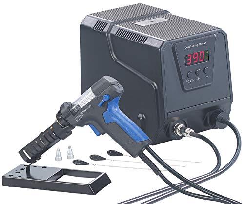 AGT Löten: Digitale Profi-Entlötstation mit Vakuum-Pumpe, 160-480 °C, 200 Watt (Entlötkolben)
