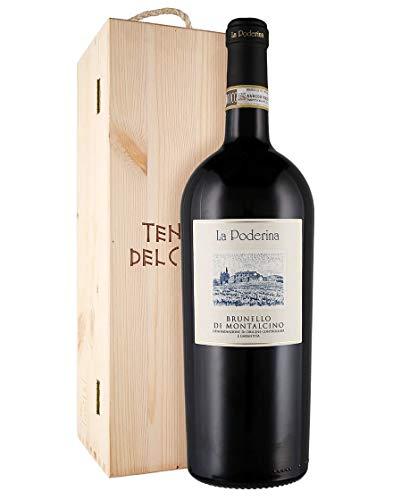 Brunello di Montalcino DOCG La Poderina 2015 Magnum 1,5 L, Cassetta di legno