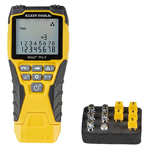 Klein Tools VDV501-851 Cable Tester Kit with Scout...