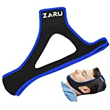Premium Anti Snore Chin Strap by ZARU [Upgraded Version] - Advanced Snoring Solution Scientifically Designed to Stop Snoring Naturally and Give You The Best Sleep of Your Life