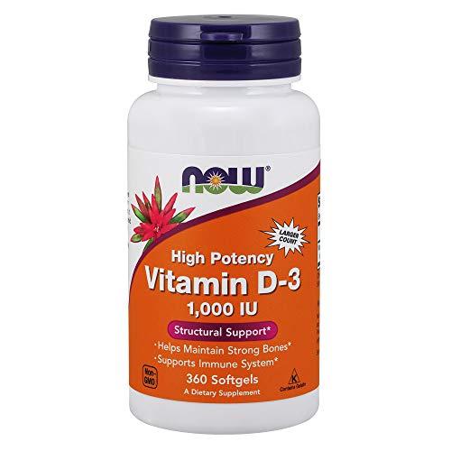 La vitamina D-3-360 capsule liquide - Now Foods, alimenti