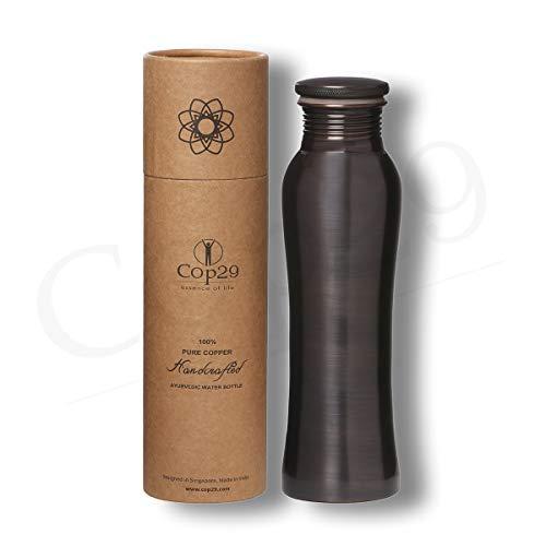 COP29 ESSENCE OF LIFE Fairy Copper Water Bottle, 900ml, 1 Piece , Copper, Brown
