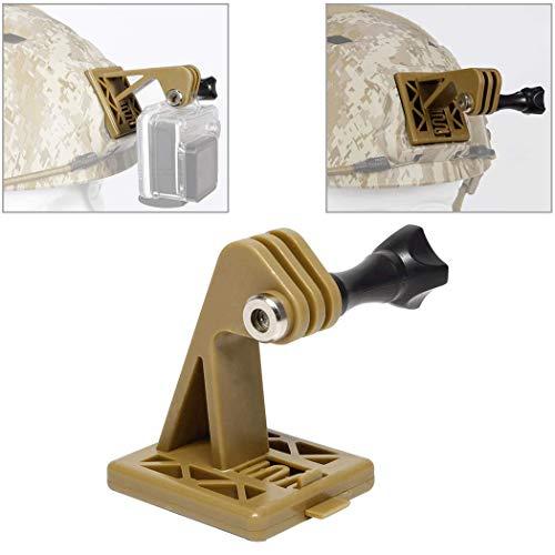 Accessori per casco tattico Supporti per escavatore per casco GoPro o supporto per casco NVG (marrone chiaro)