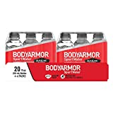 BODYARMOR SportWater Alkaline Water, Superior Hydration, High Alkaline Water pH 9+, Electrolytes, Perfect for your Active Lifestyle, 20 Fl Oz (Pack of 24)