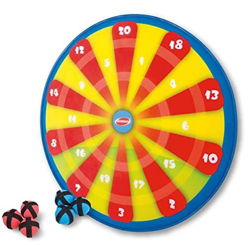 Diggin PopOut Darts. Kids Hook-and-Loop Ball Target Game