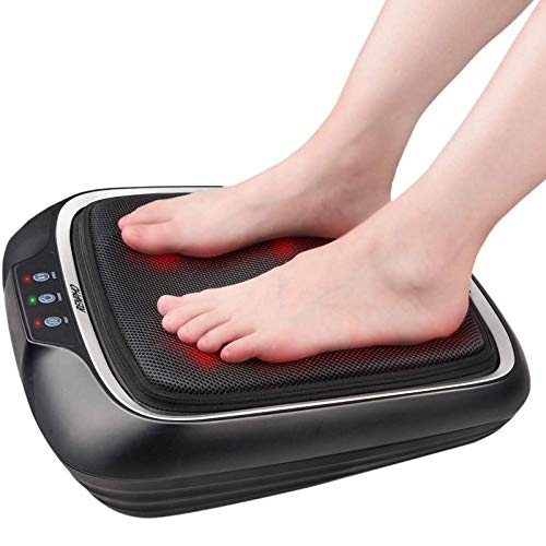 RENPHO Foot Massager with Heat, Electric Shiatsu Feet Massager Machine, Deep-Kneading Foot Massage with Removable Cover for Plantar Fasciitis, Neuropathy, and Tired Feet