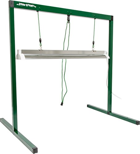 Jump Start 2' T5 Grow Light System (Stand, Fixture & Tube) - JSV2