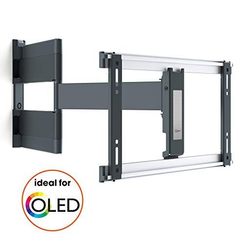 Vogel\'s THIN 546 (LG) OLED TV-Wandhalterung für 102-165 cm (40-65 Zoll) Fernseher, 180° schwenkbar, max 30 kg, VESA max 400 x 200, schwarz