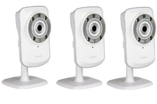 D-Link DCS-932L Kit di 3 telecamere