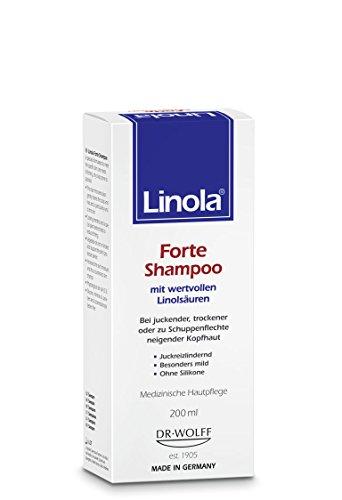 Linola Forte Shampoo 200 ml - für juckende, trockene oder zu Schuppenflechte...