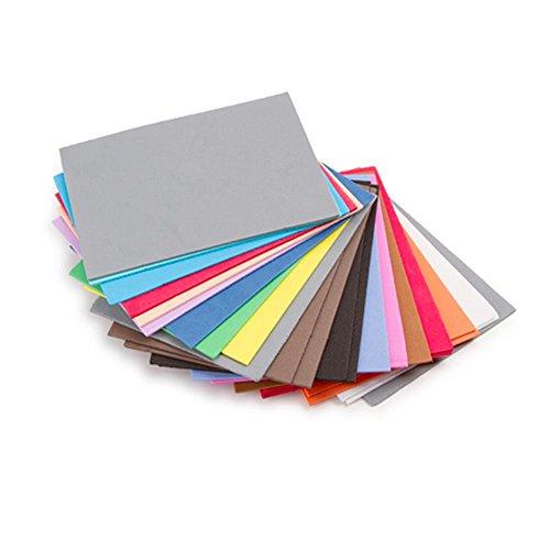 "Darice Foamies Foam Sheets Assorted Colors, 100 Pack – 4.5"" x 6"""