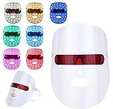 7 Couleur LED Photon Masque,acné Masque de luminothérapie,Masque facial de luminothérapie,Rides...