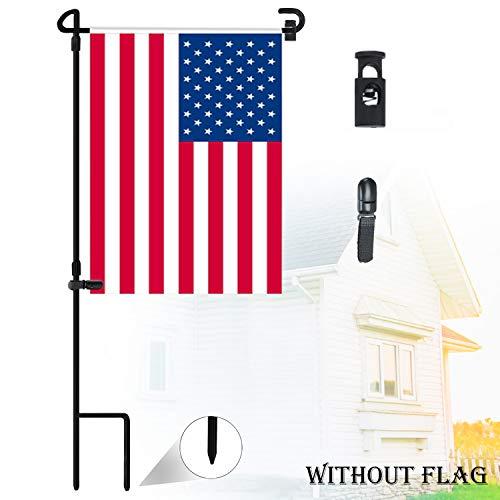 Nirohee Garden Flag Stands,Garden Flags Holders,Yard Flag Stands,Garden Glag Pole,Garden Flag Holders for 12.5' Flags in Width