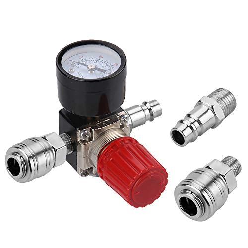 1/4' Druckminderer, Preciva EU-Standard Druckregler Druckregelventil...