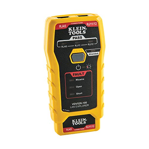 Klein Tools LAN Explorer Data Cable Tester with...
