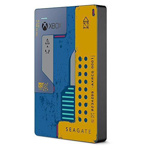 Seagate Game Drive para Xbox, Disco duro externo de 5TB, HDD portátil, USB 3.0, CyberPunk 2077 Special Edition, Diseñado para Xbox One (STEA5000404)