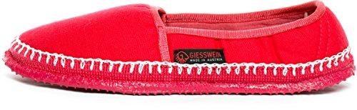 Giesswein Paldau, Alpargata Mujer, Rojo (Rot), 40 EU