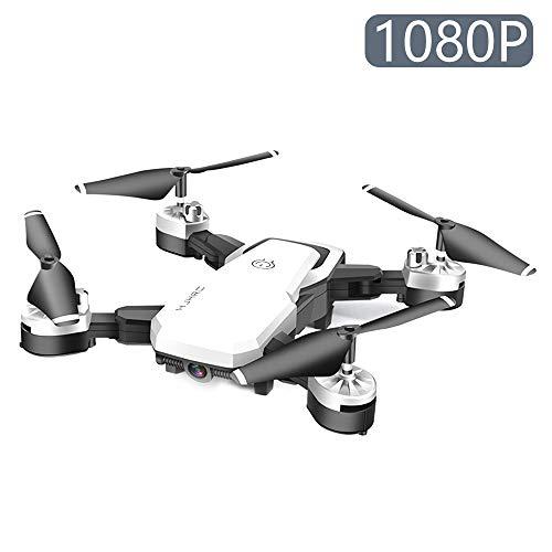 JTWEB Drone con Telecamera,Videocamera HD FPV, 24 Minuti di Volo Quadricottero RC Portatile,modalit...