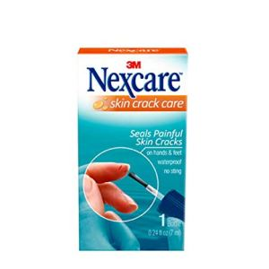 Nexcare Skin Crack Care, Liquid Bandage, Great for Use on Fingers, Hands and Feet, No Sting, Waterproof, 1 Bottle 5