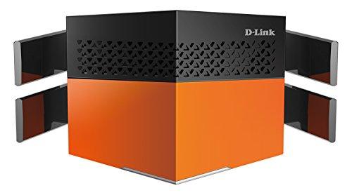 Product Image 1: D-Link DIR-869 Router Wi-Fi AC1750, 4 Porte Gigabit 10/100/1000Mbps, Doppia Banda, Tecnologia AC SmartBeam,Nero/Arancione
