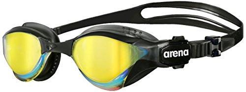 Arena Oculos Cobra Tri Mirror Lente Espelhada Amarelo, Preto