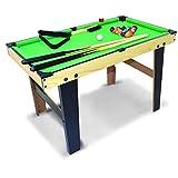 WXS Mini Table De Billard, Jeux for Les Enfants, Compact Billard avec Tabletop...